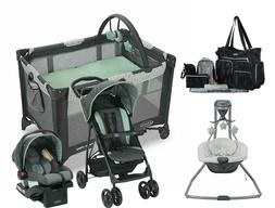 Graco Baby Stroller Car Seat Travel System with Playard Infa