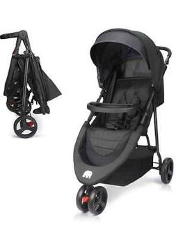 Meinkind Baby Stroller, Foldable Lightweight Baby Strollers