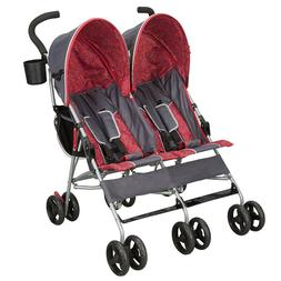 Baby Stroller For Twins Two Kids Double Buggy Light Folding
