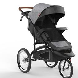 Cynebaby baby stroller luxury carrier Color GREY 3 WHEEL