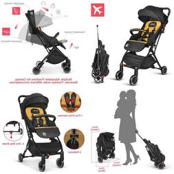 Besrey Baby Stroller Pram Baby Carriage Reclining Seat For A