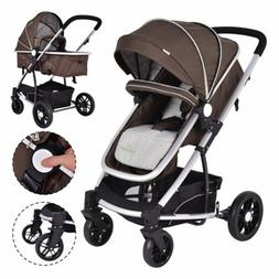 Costway Baby stroller Travel System 2 In1 Foldable Infant Bu