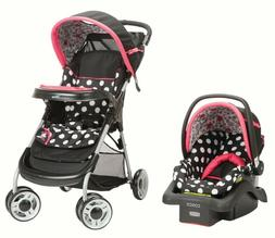 Disney Baby Stroller Travel System Car Seat Minnie Mouse Lif
