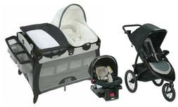 Graco Baby Stroller Jogger Travel System with Car Seat Playa