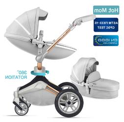 Baby Stroller travel system with bassinet 360° Rotation for