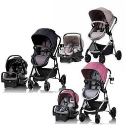 baby stroller with car seat 3 in