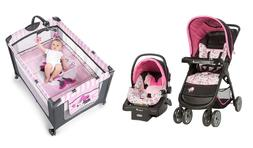 baby stroller with car seat minnie mouse