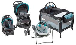 baby stroller with car seat playard infant