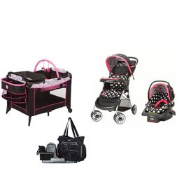 Disney Baby Stroller with Car Seat Travel System Playard Dia