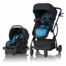Baby Stroller with Infant Car Seat Evenflo Travel System For