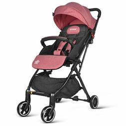 baby strollers lightweight reclining seat foldable airplane
