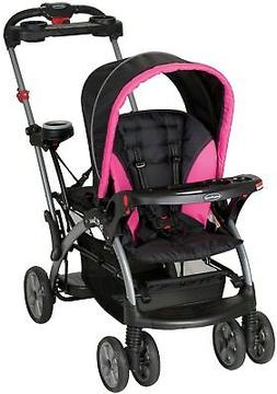 Baby Trend Sit N Stand Ultra Single Stroller, Bubble Gum