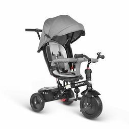 Besrey Baby Tricycle  7 in 1 Trike Push Chair Toddler Reclin