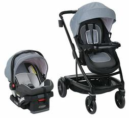 Graco Baby UNO2DUO Travel System Stroller w/ SnugLock 35 Inf
