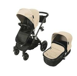 Babyroues LetourAvant Deluxe 3in1 Travel System Black Frame/