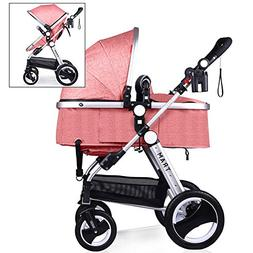 Babyroues Newborn to Toddler Baby Stroller – Full Size Lux