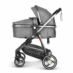 3 in 1 Baby Strollers Infant Foldable Pushchair Travel Syste