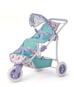 American Girl Bitty Double Stroller for Baby Doll New in Box
