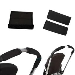 Black soft Fabric Handle Cover Chassis To fit your Cybex bab