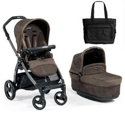 Peg Perego - Book Pop-Up Stroller Combo Circle with Bag - Br