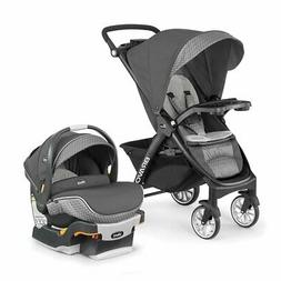 Chicco Bravo LE Stroller w/ KeyFit 30 Zip Infant Car Seat &