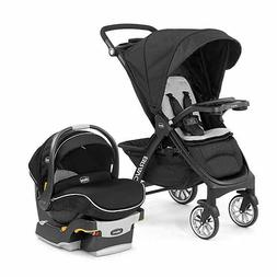 Chicco Bravo LE Trio Baby Travel System With KeyFit30 Zip Ca