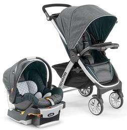 Chicco Bravo Trio 3-in-1 Baby Travel System Stroller w KeyFi