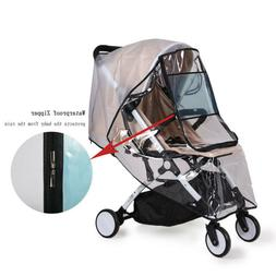 Buggy Rain Cover Universal Raincover For Baby Pushchair Stro