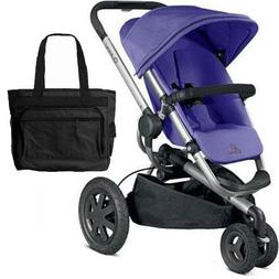 Quinny Buzz Xtra Stroller with Diaper Bag - Purple Pace