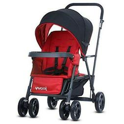Joovy Caboose Graphite Tandem Stand-On Stroller - Red