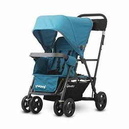 Caboose Ultralight Graphite Stroller, Sit and Stand, Tandem