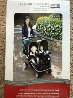 Britax Child Tray for B-Agile Double Strollers, Black - New