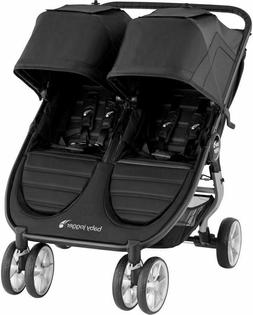 Baby Jogger City Mini 2 Twin Baby Double Stroller Jet NEW 20