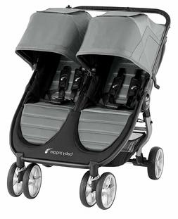 Baby Jogger City Mini 2 Twin Baby Double Stroller Slate NEW