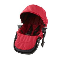 Baby Jogger City Select Second Seat Kit - Black Frame - Red