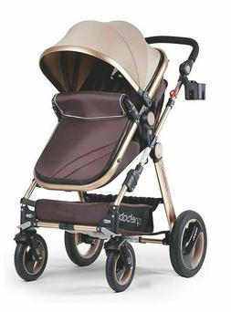 Cynebaby Convertible Bassinet Stroller Compact Single Luxury