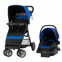 Simple Fold Travel System with Light and Comfy 22 Infant Car
