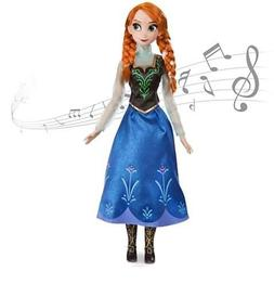Doll Disney Store FROZEN Singing Princess Anna BIG Light Up