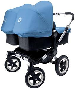 Bugaboo Donkey Complete Twin Stroller - Ice Blue - Aluminum