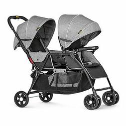 Besrey Double Stroller for Baby and Toddler-Tandem Umbrella