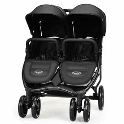 Double Stroller Lightweight Easy Folding Duo Baby Twin Seat