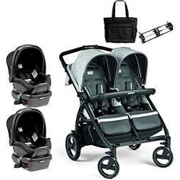 double stroller twin system