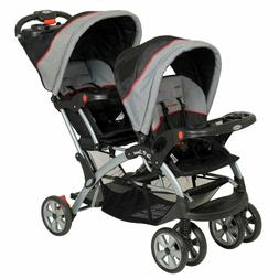 Double Travel System Stroller Baby Infant Twin Car Seat Carr