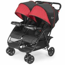 Double Twin Stroller Canopy Walker Seat Baby UV Foldable Tra