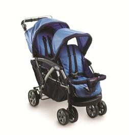 Foundations - Duo Double Tandem Stroller, Blue