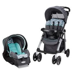 Evenflo Vive Travel System With Embrace, Spearmint Spree Wit
