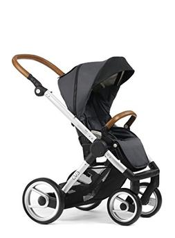 Mutsy EVO Urban Nomad Stroller in Dark Grey with Silver Chas