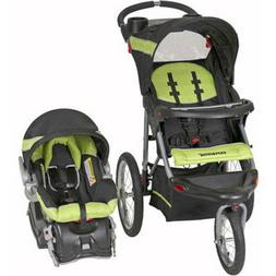 Baby Trend Expedition Jogger Travel System, Electric Lime
