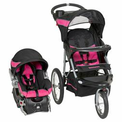 Baby Trend Expedition Jogger Travel System Canopy Cup Holder