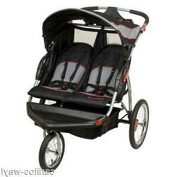 Baby Trend EXPEITION MILLENNIUM DOUBLE JOGGING STROLLER Infa